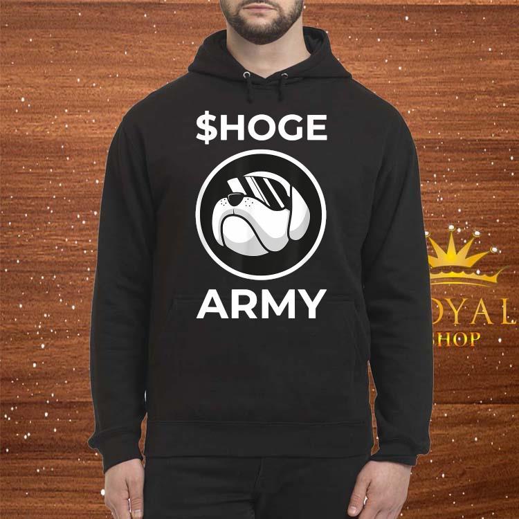 $hoge Army Shirt Hoodie