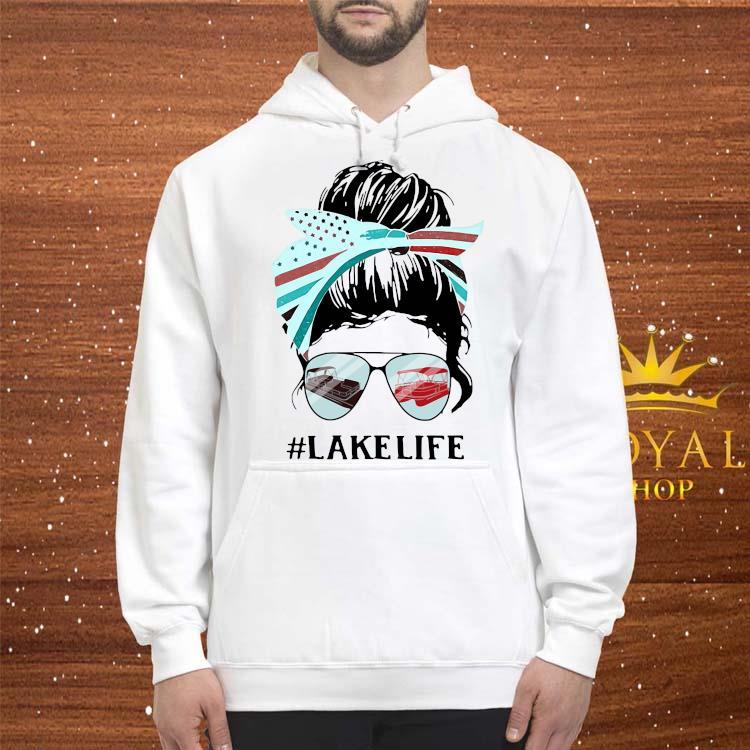 Women Lake Life Shirt hoodie