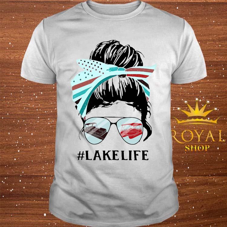 Women Lake Life Shirt