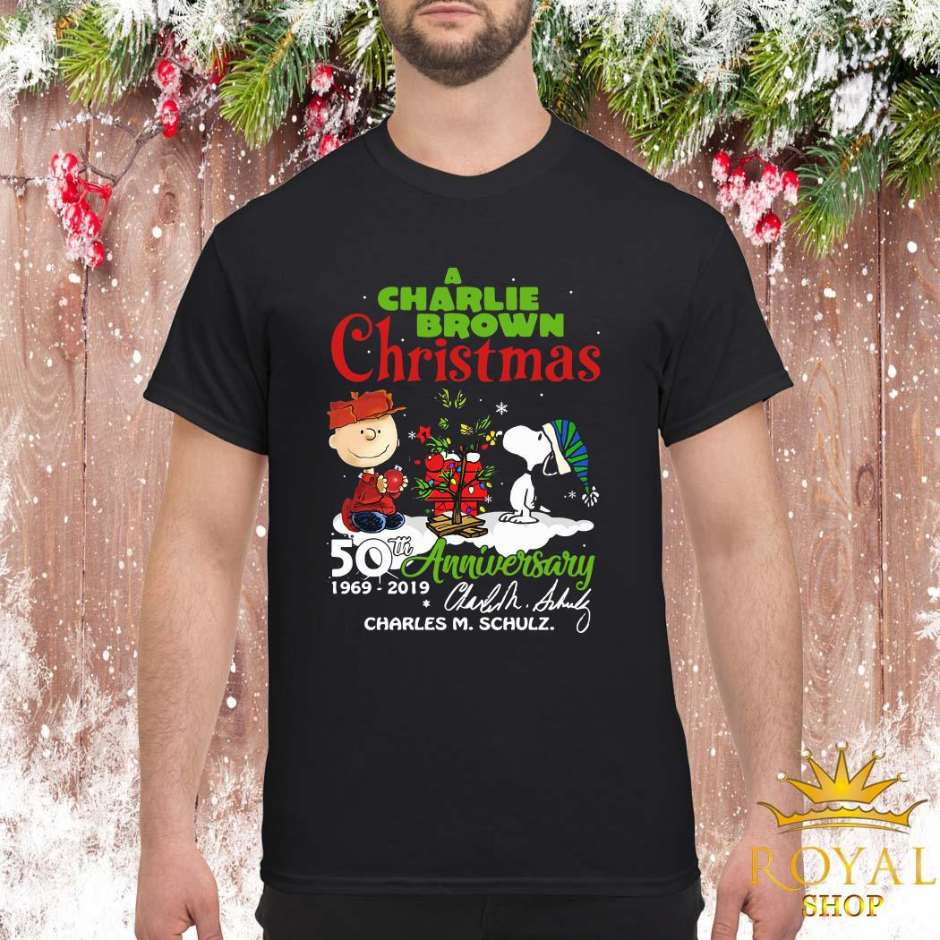 A Charlie Brown Christmas 50th Anniversary 1969-2019 Signature ShirtA Charlie Brown Christmas 50th Anniversary 1969-2019 Signature Shirt