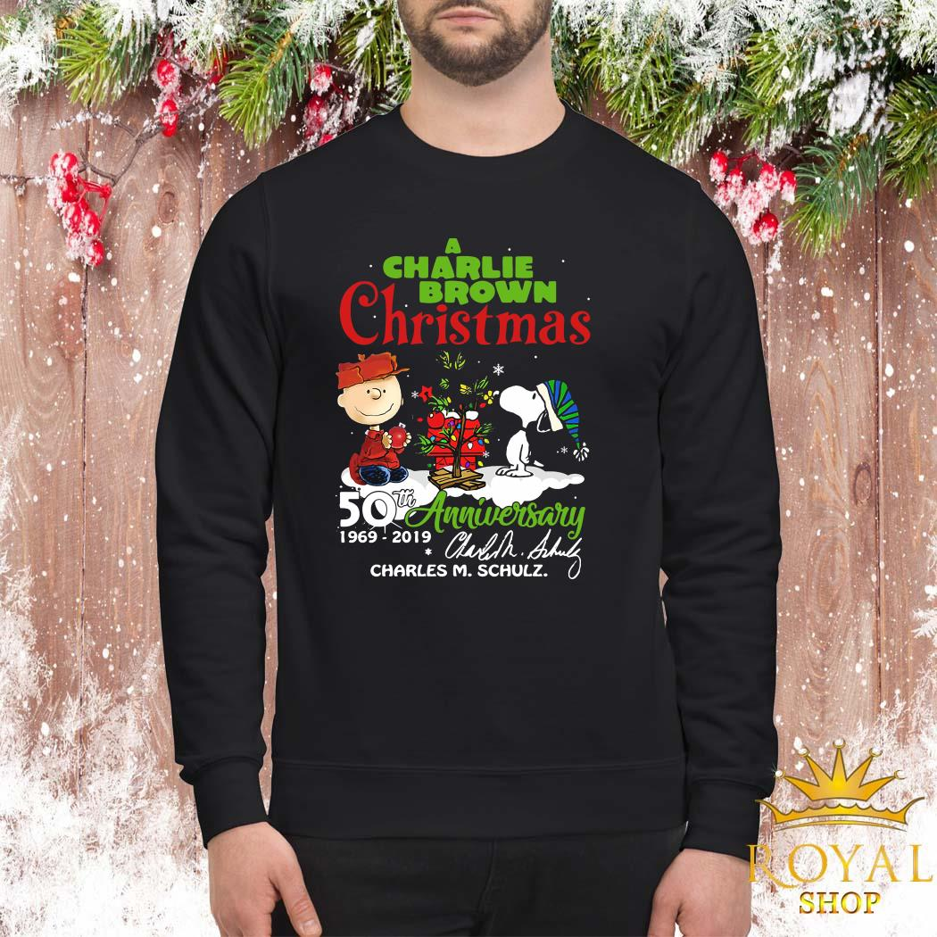 A Charlie Brown Christmas 50th Anniversary 1969-2019 Signature ShirtA Charlie Brown Christmas 50th Anniversary 1969-2019 Signature Sweater