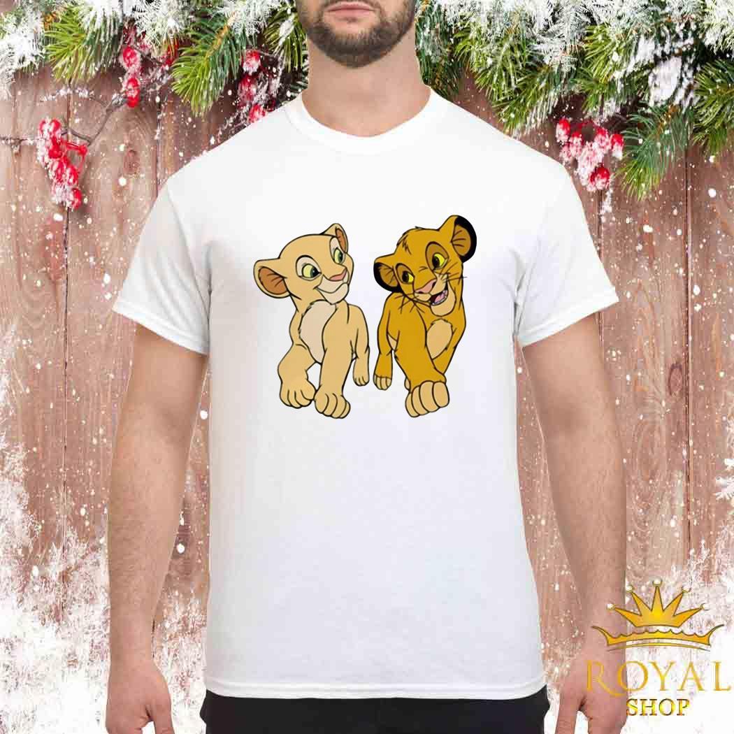 Disney The Lion King Young Simba and Nala Shirt