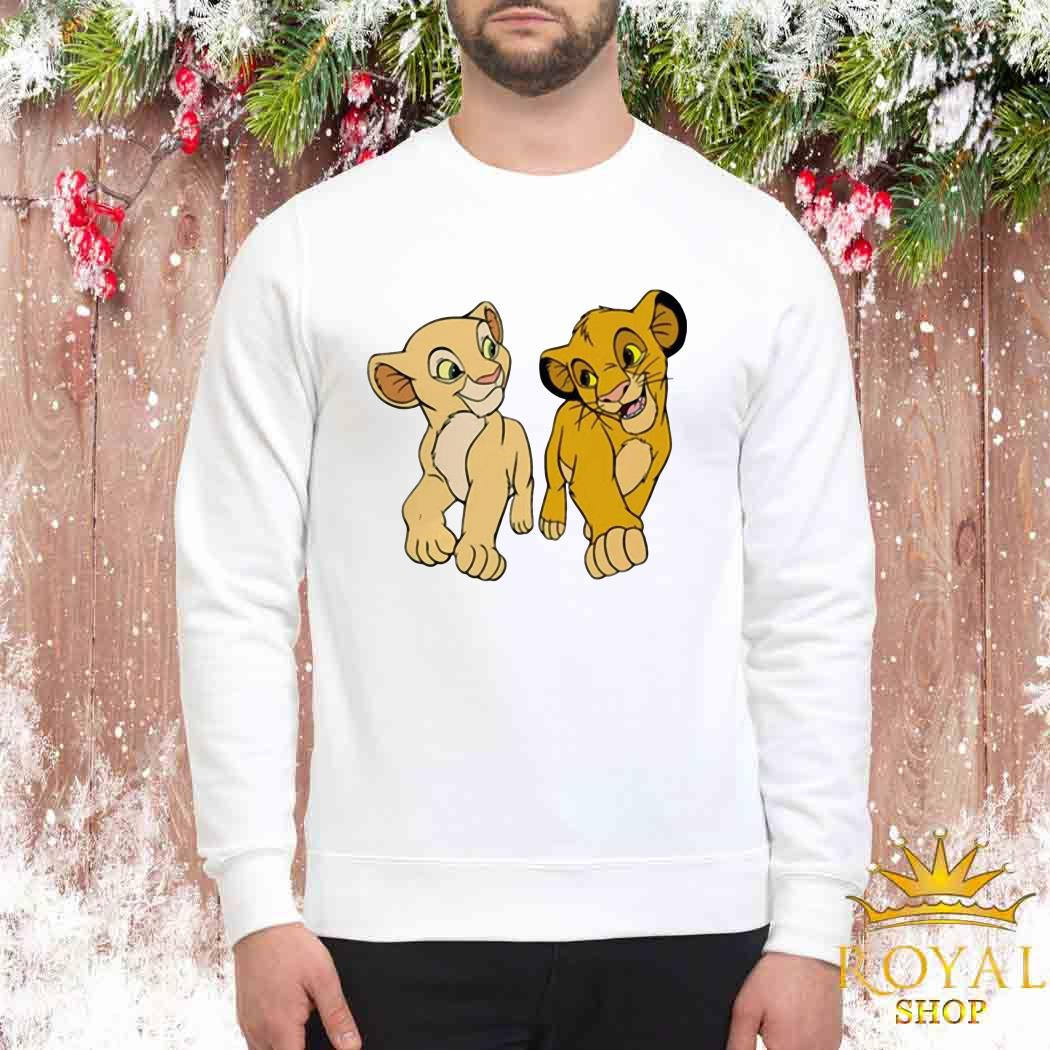 Disney The Lion King Young Simba and Nala Sweater