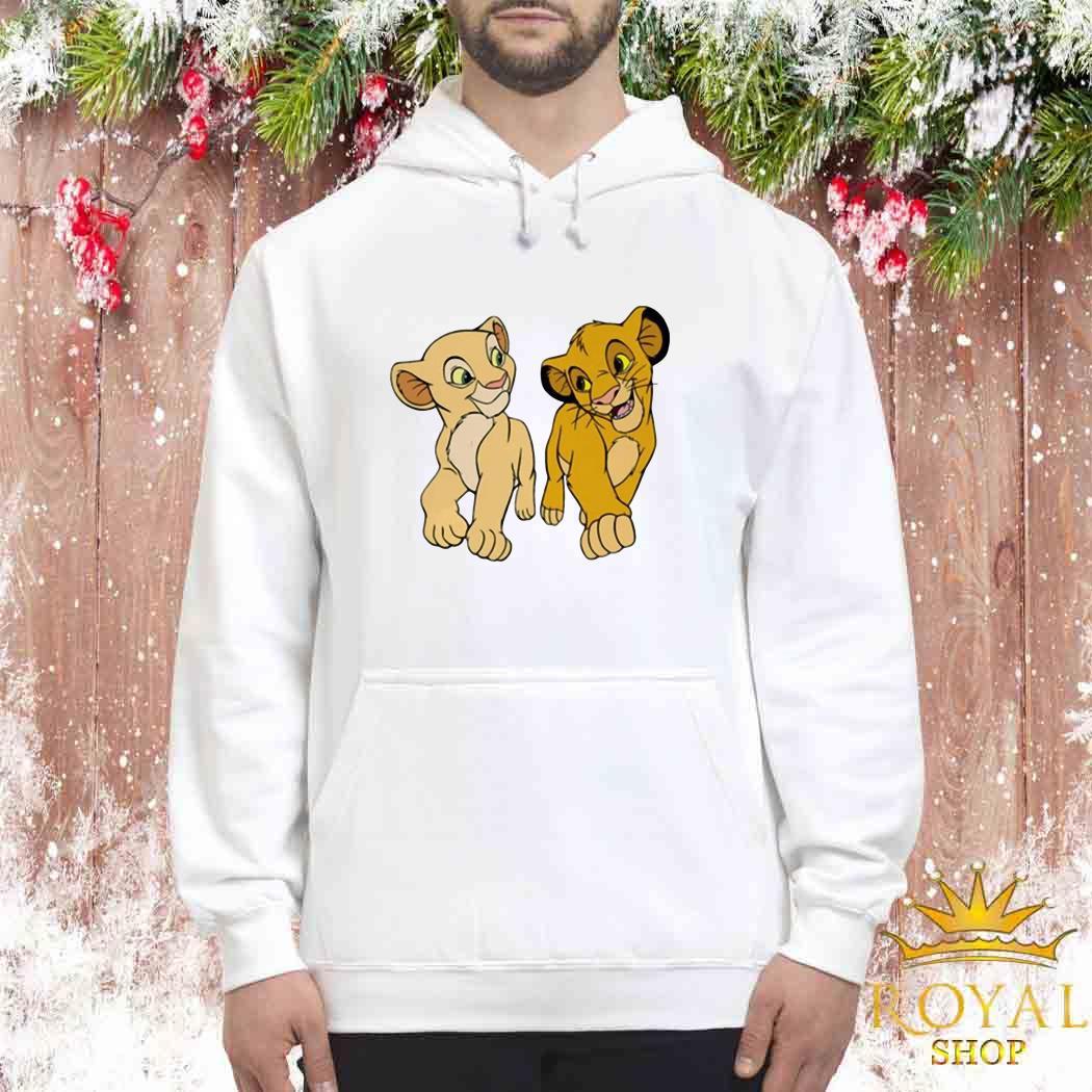 Disney The Lion King Young Simba and Nala Unisex Hoodie