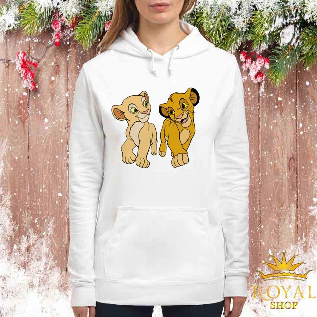 Disney The Lion King Young Simba and Nala Woman Hoodie