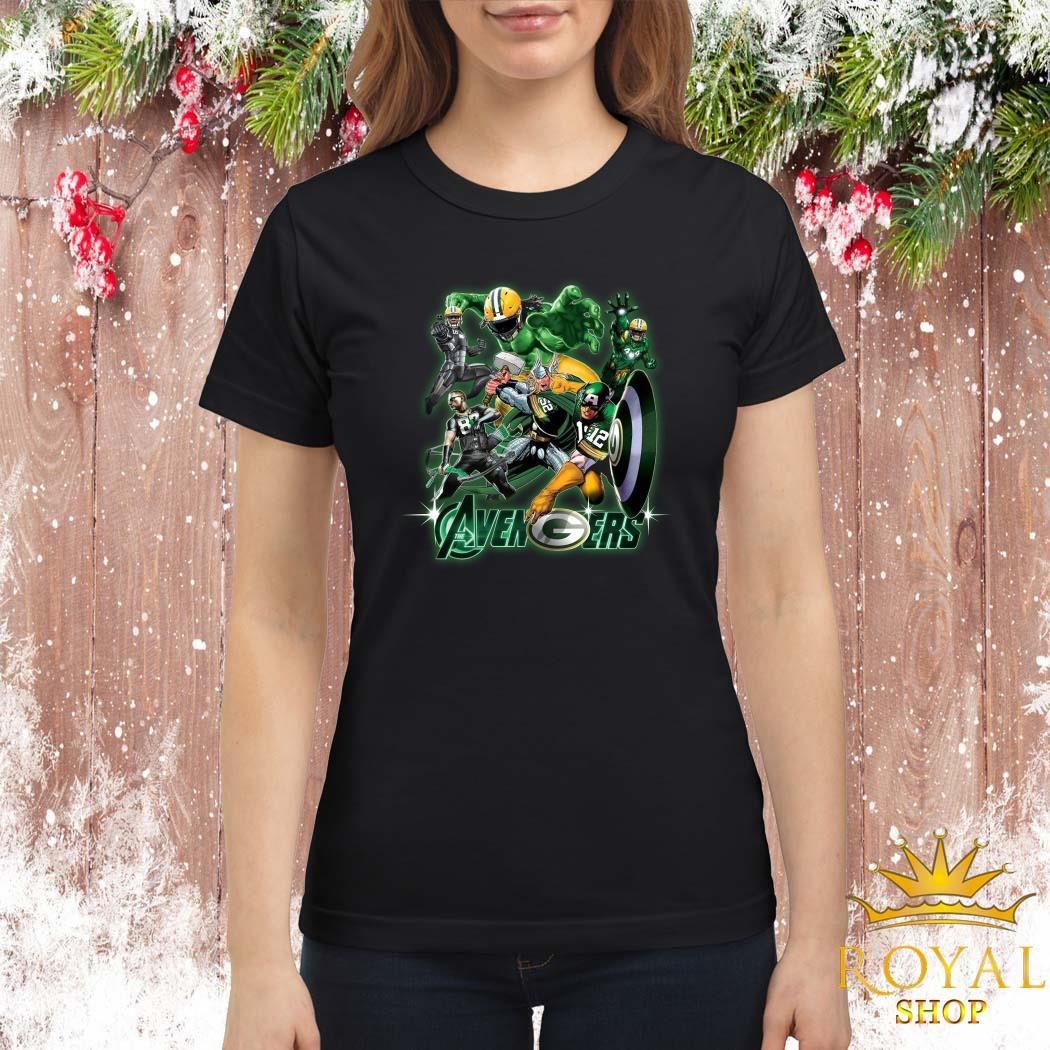 Green Bay Packers The Avengers Ladies Shirt