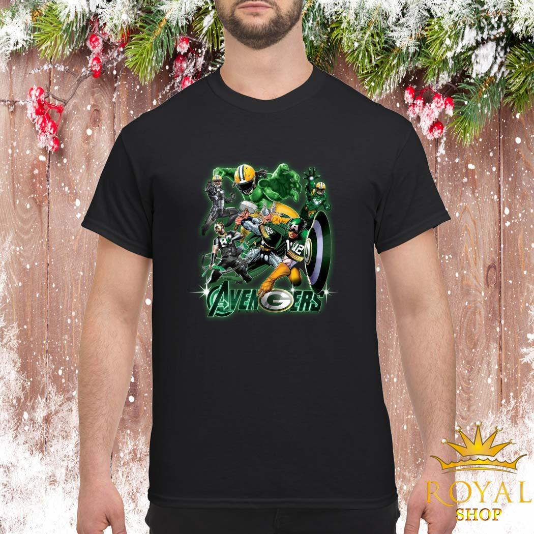 Green Bay Packers The Avengers Shirt