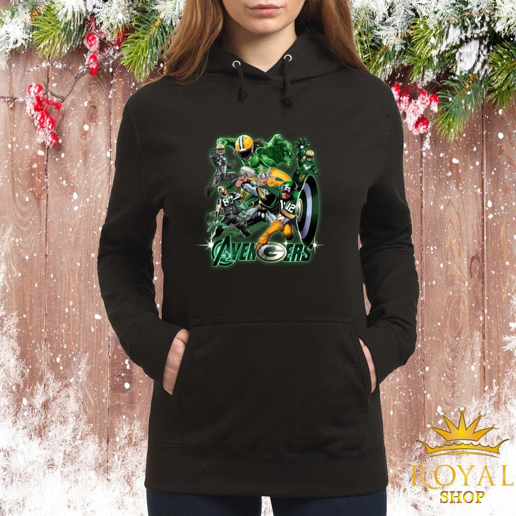Green Bay Packers The Avengers Women Hoodie
