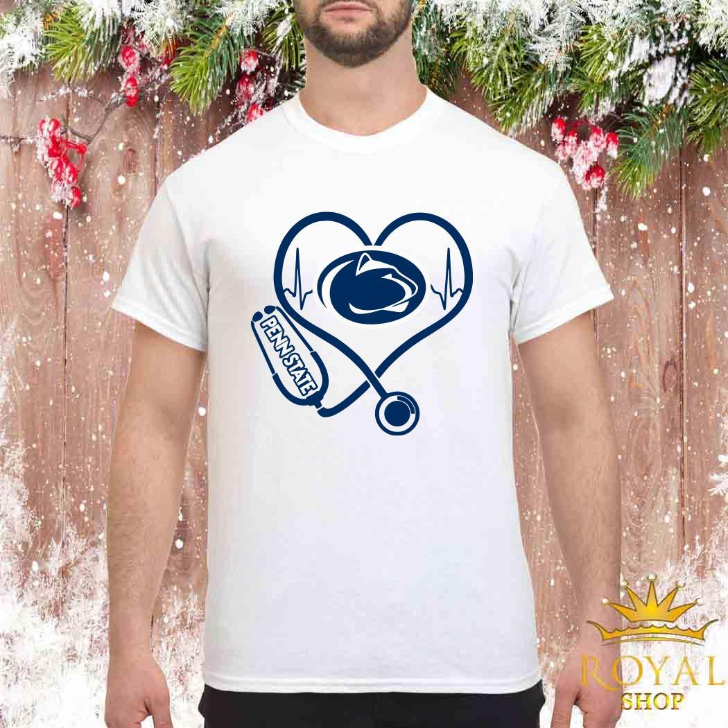 Heartbeat Nurse Love Penn State Shirt