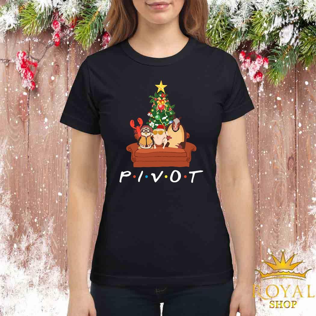 Pivot Friends TV Show Christmas Ladies Shirt