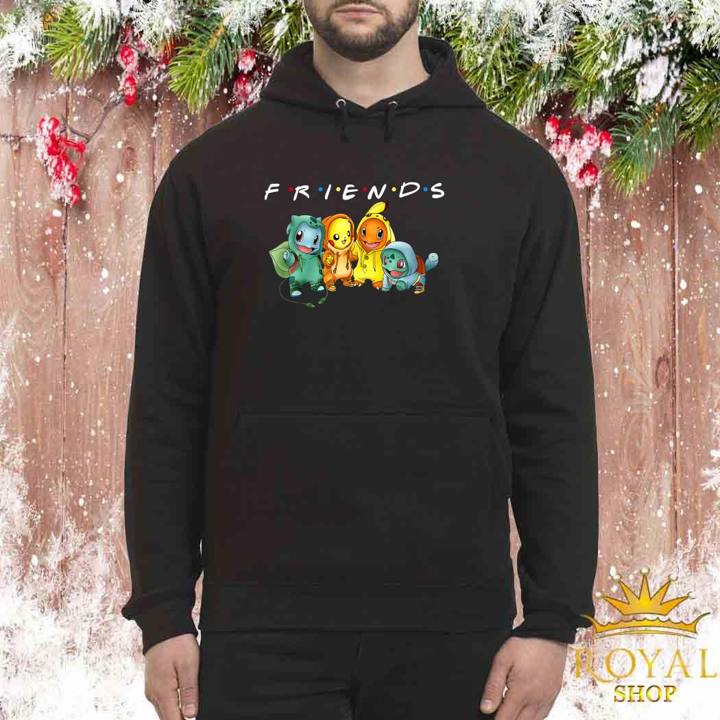 Pokemon Friends TV Show Unisex Hoodie