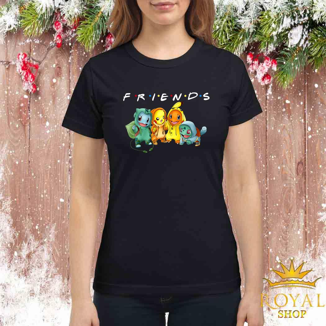 Pokemon Friends TV Show Ladies Shirt