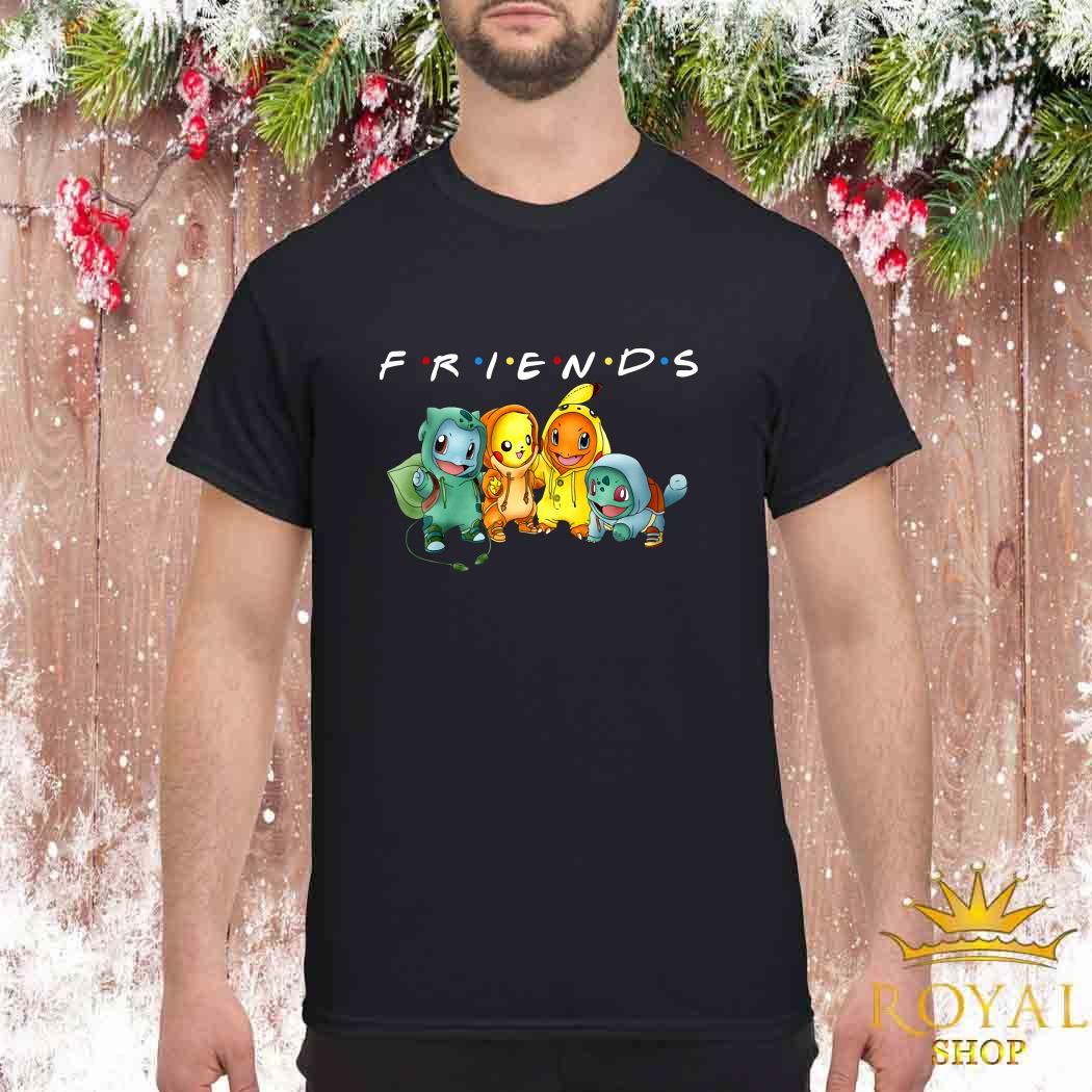 Pokemon Friends TV Show Shirt