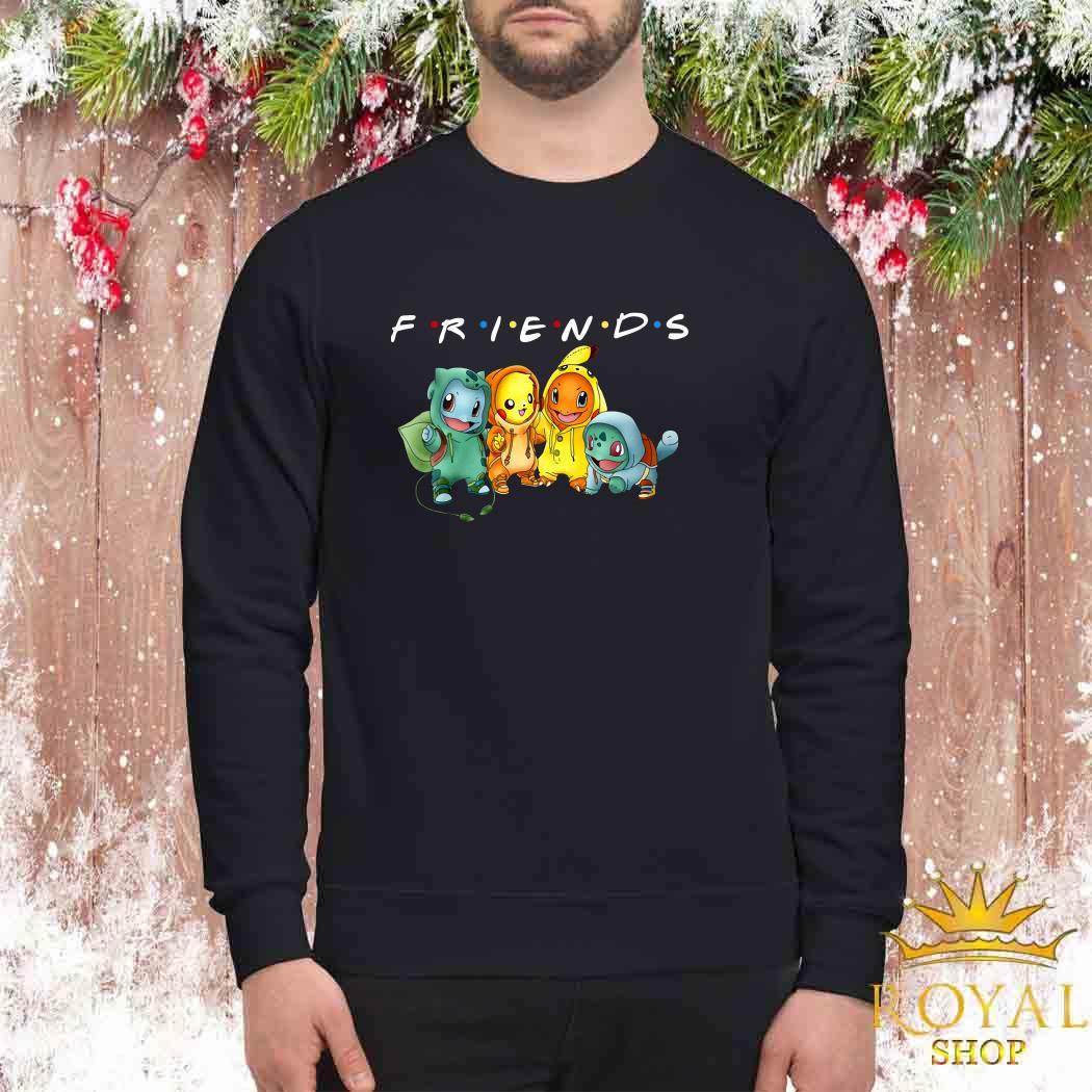 Pokemon Friends TV Show Sweater