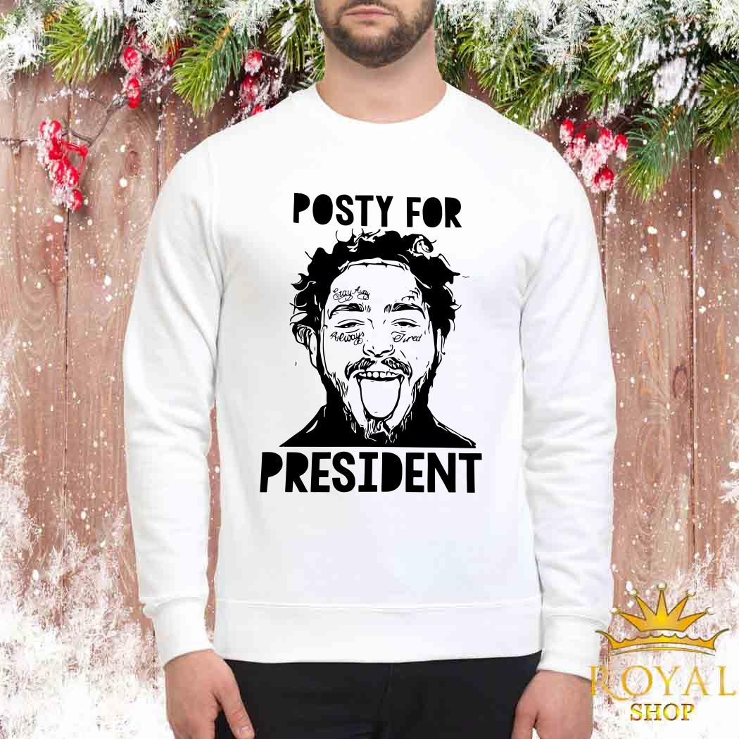 Posty For President Post Malone Sweater