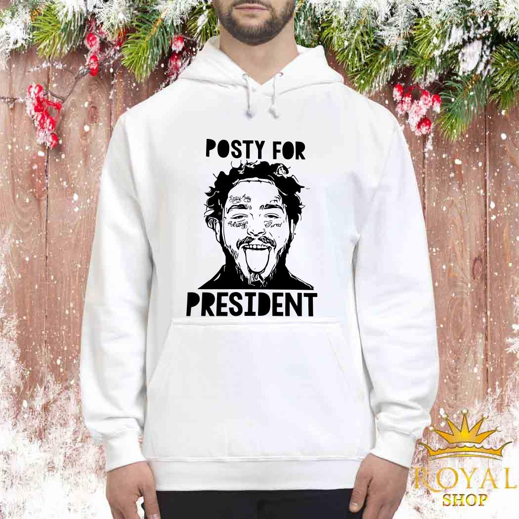Posty For President Post Malone Unisex Hoodie