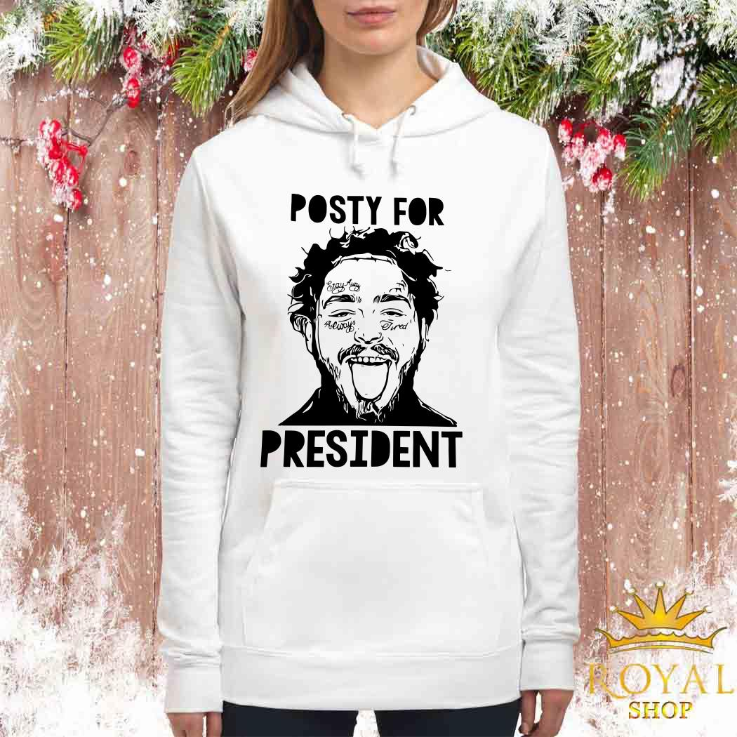 Posty For President Post Malone Women Hoodie
