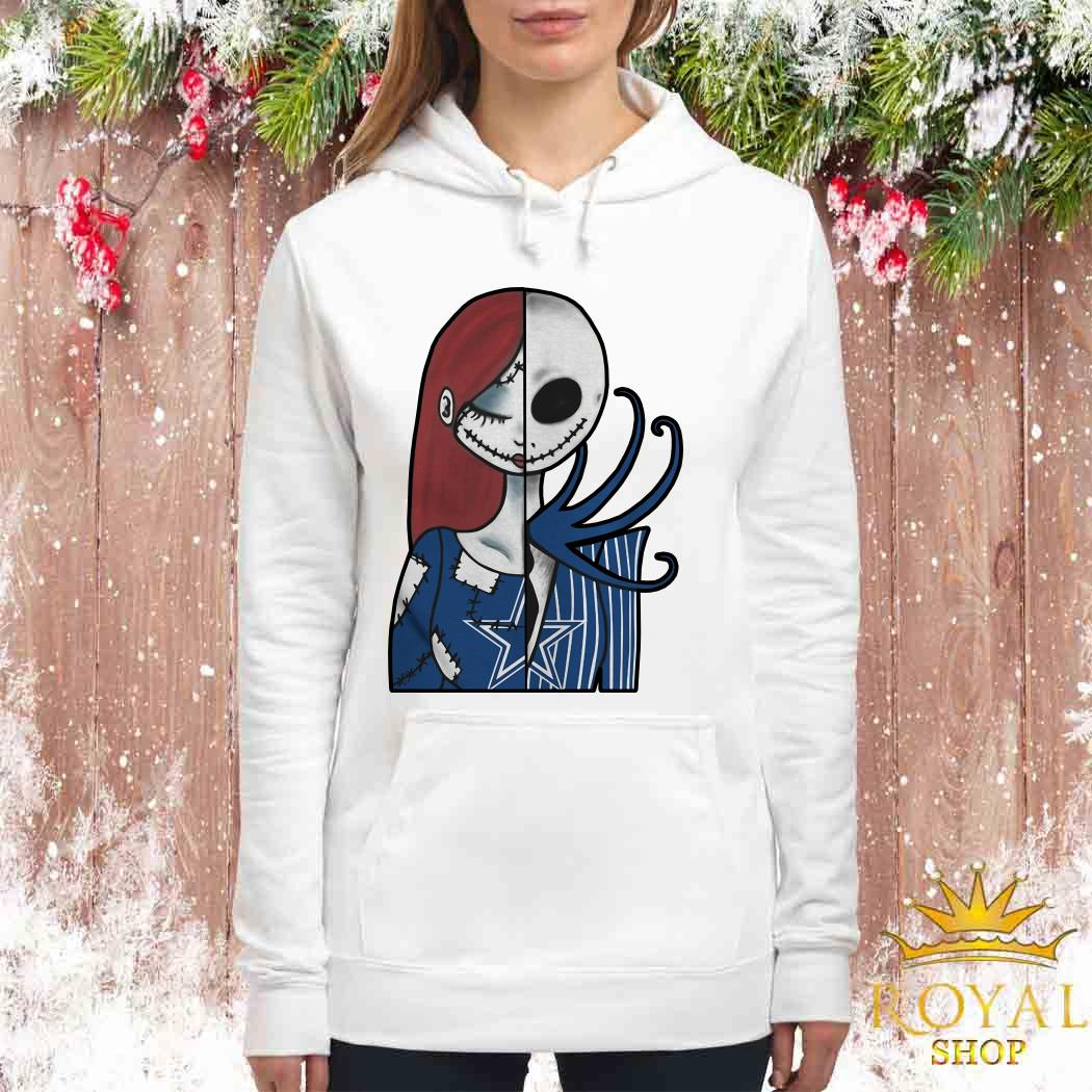 Sally And Jack Dallas Cowboy Women Hoodie
