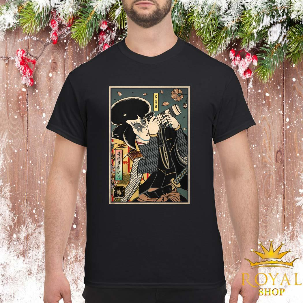 Samurai Photographer Shirt