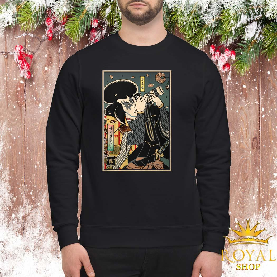Samurai Photographer Sweater