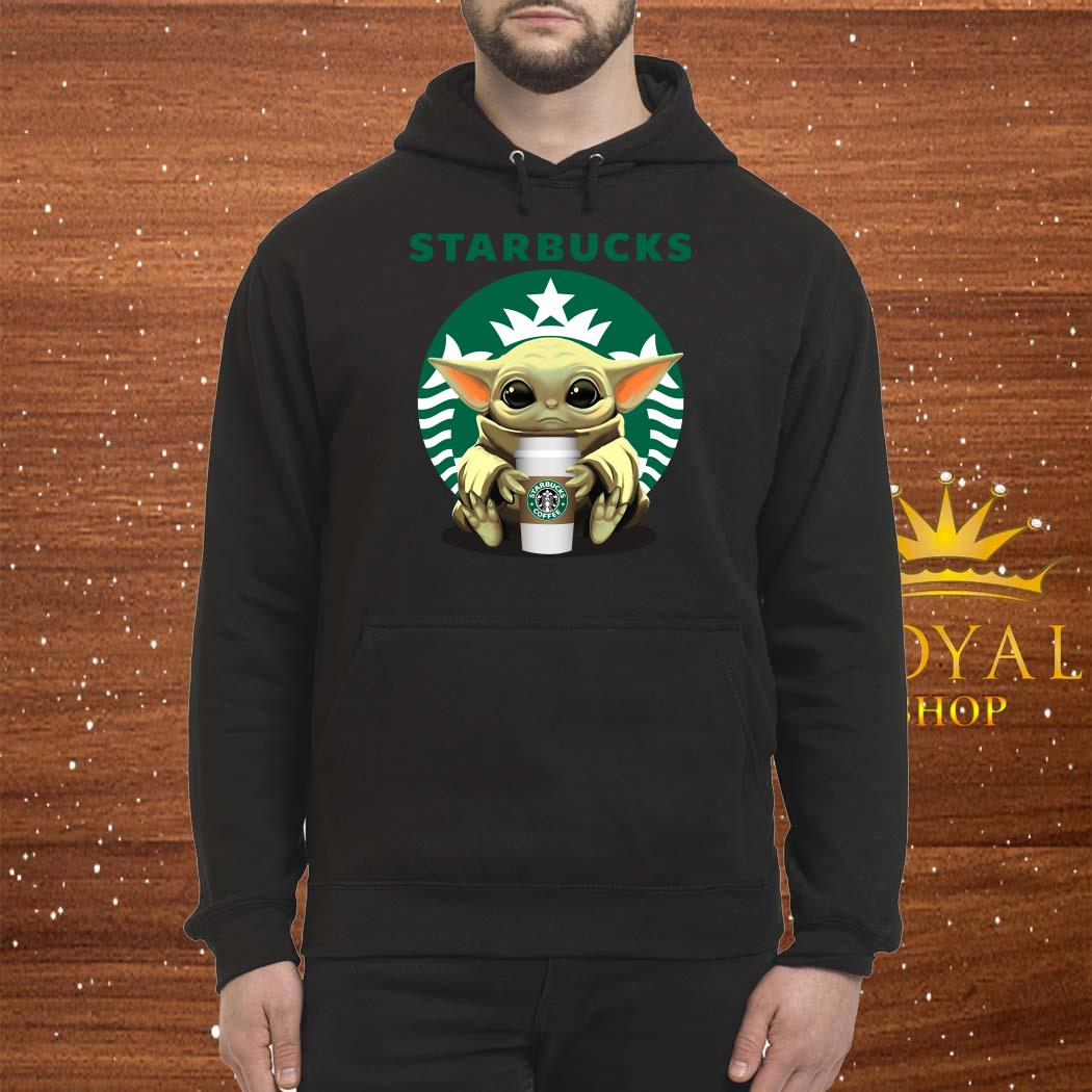 Baby Yoda Hug Starbucks Unisex Hoodie