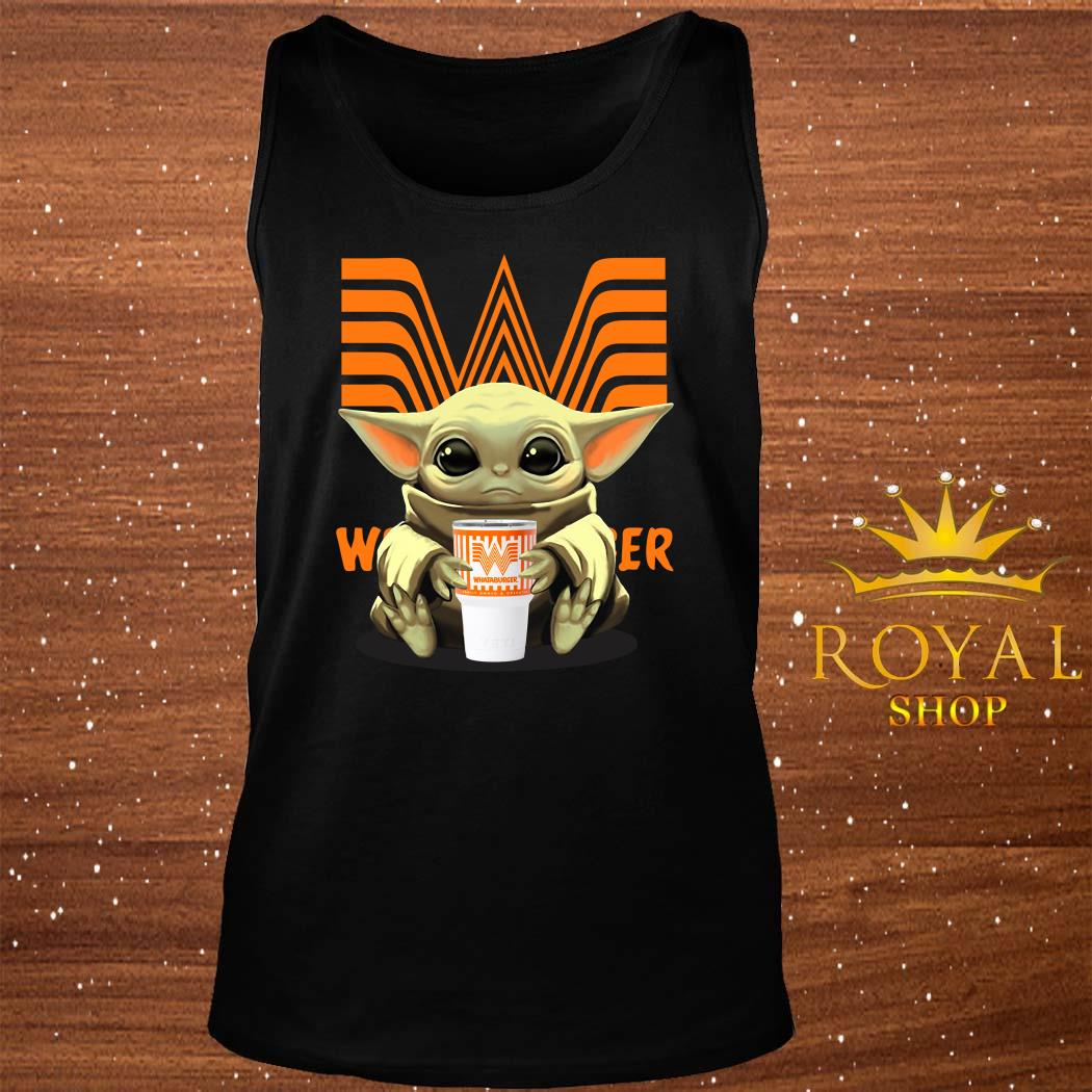 Baby Yoda Hug Whataburger Tank-top