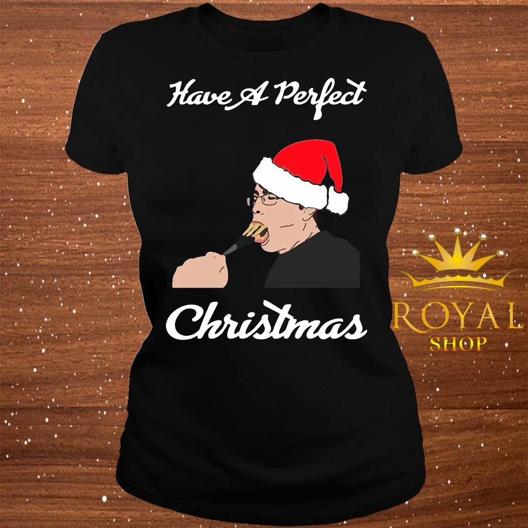 Have A Perfect Christmas ladies Tee