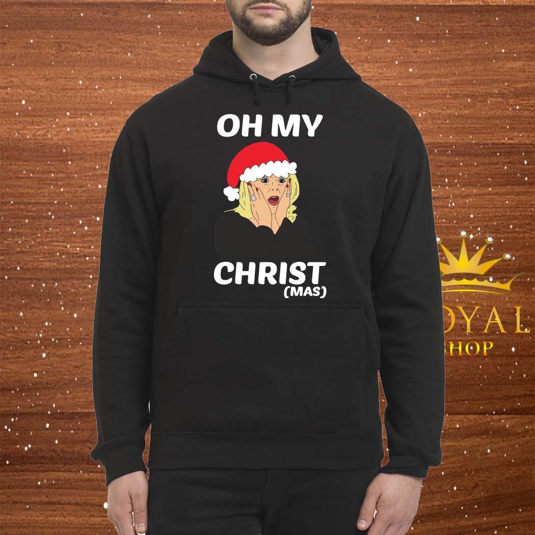 Santa Stacey Shipman Oh My Christmas Unisex Hoodie