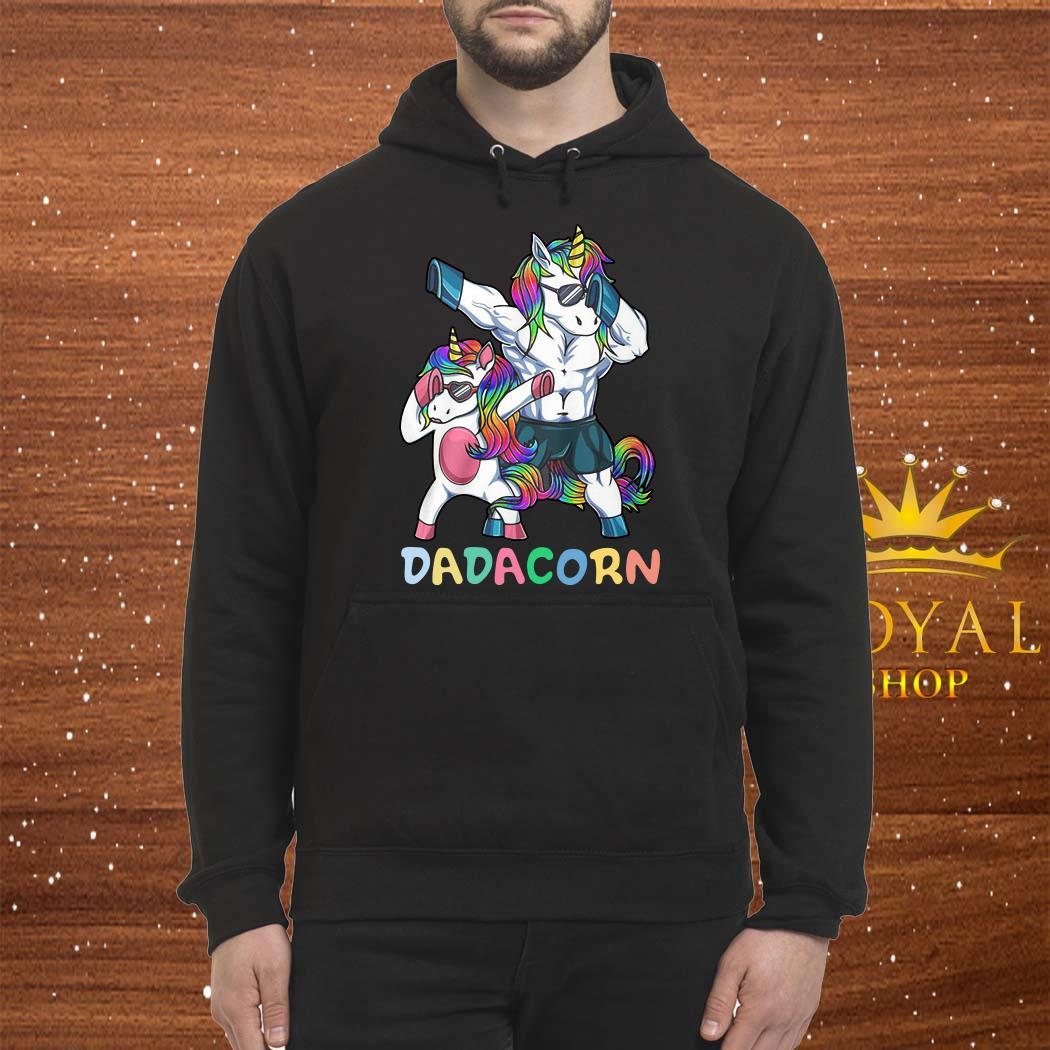Unicorn Dabbing Dadacorn Unisex Hoodie