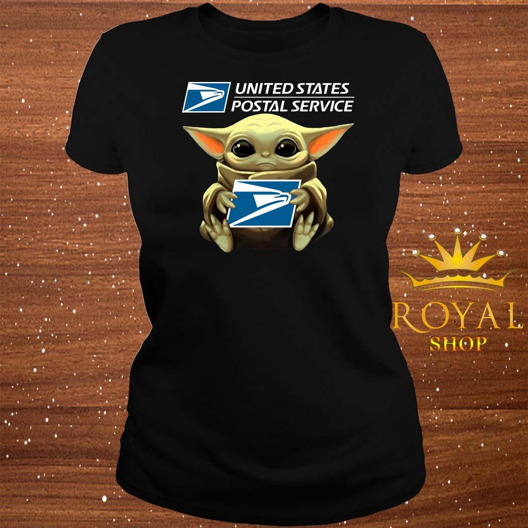 Baby Yoda United States Postal Service ladies Tee
