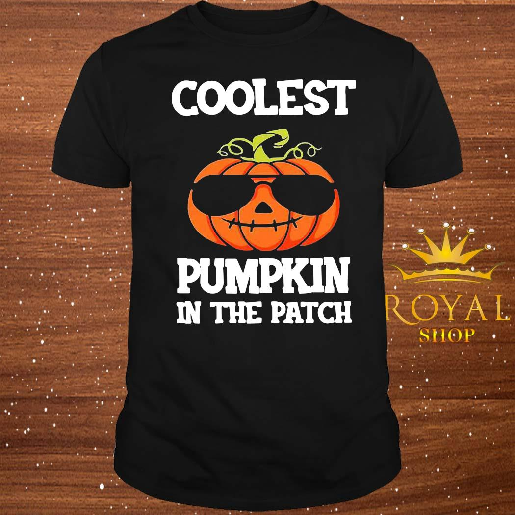 Coolest Pumpkin In The Patch Shirt