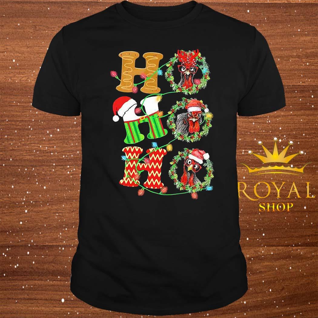 Chicken Hohoho Christmas Shirt