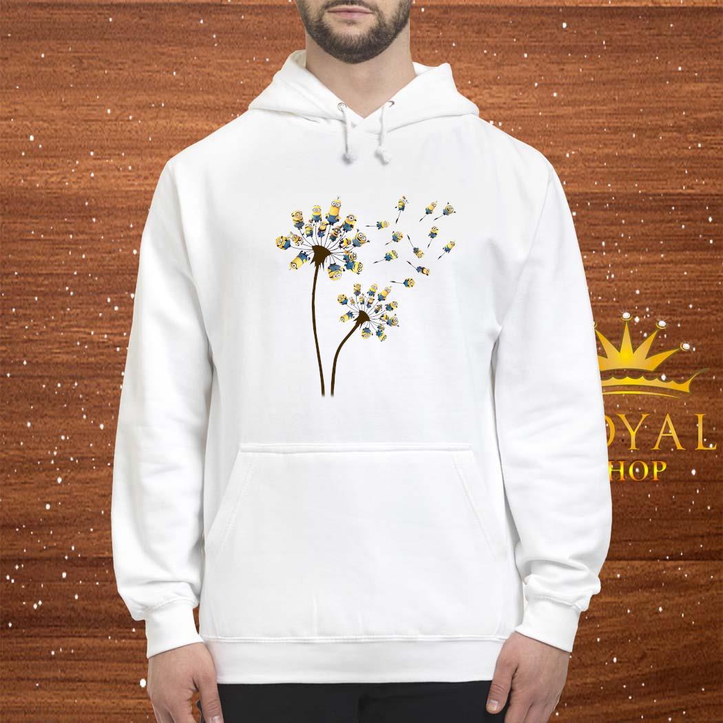 Minions Dandelion Flower Shirt hoodie