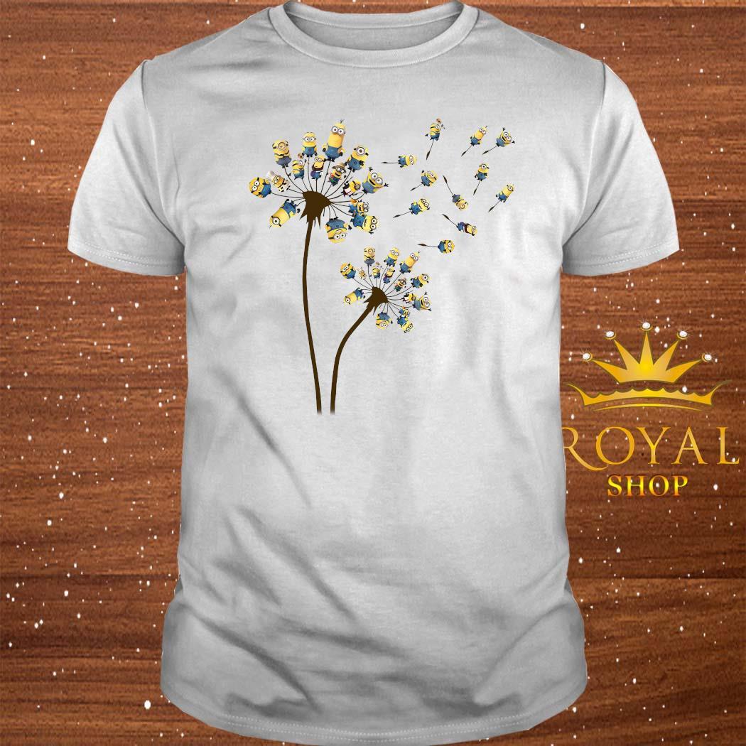 Minions Dandelion Flower Shirt