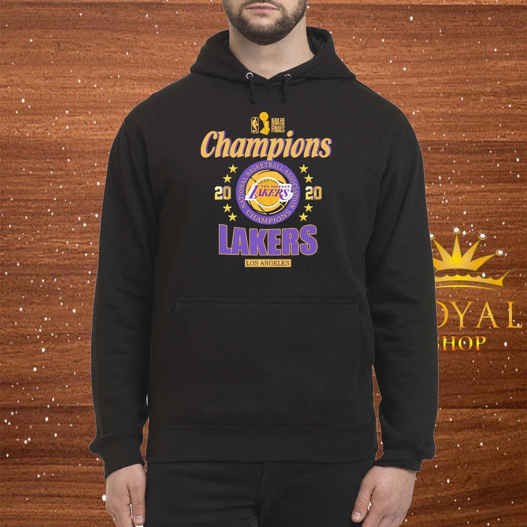 2020 Los Angeles Lakers National Basketball Association Champions Shirt Hoodie