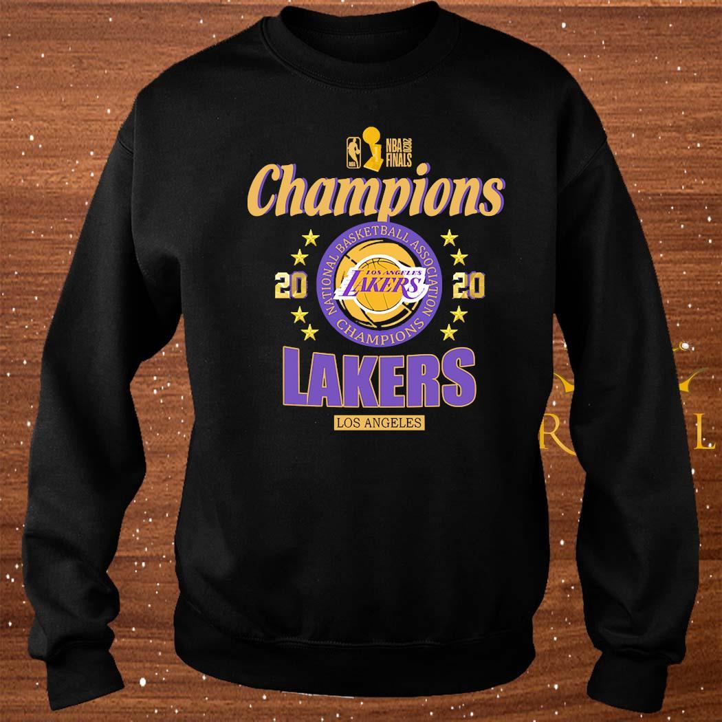 2020 Los Angeles Lakers National Basketball Association Champions Shirt sweater