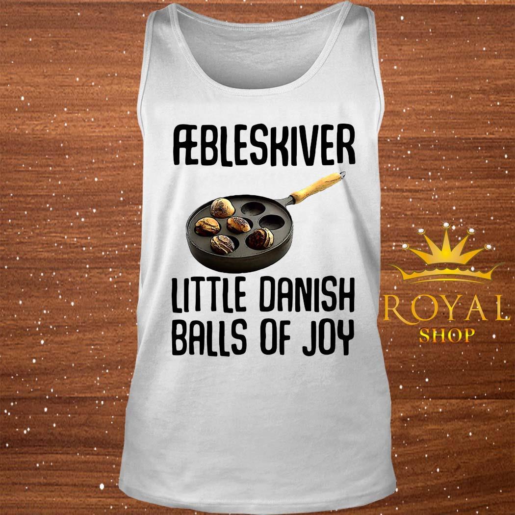 Aebleskiver Little Danish Balls Of Joy Shirt tank-top