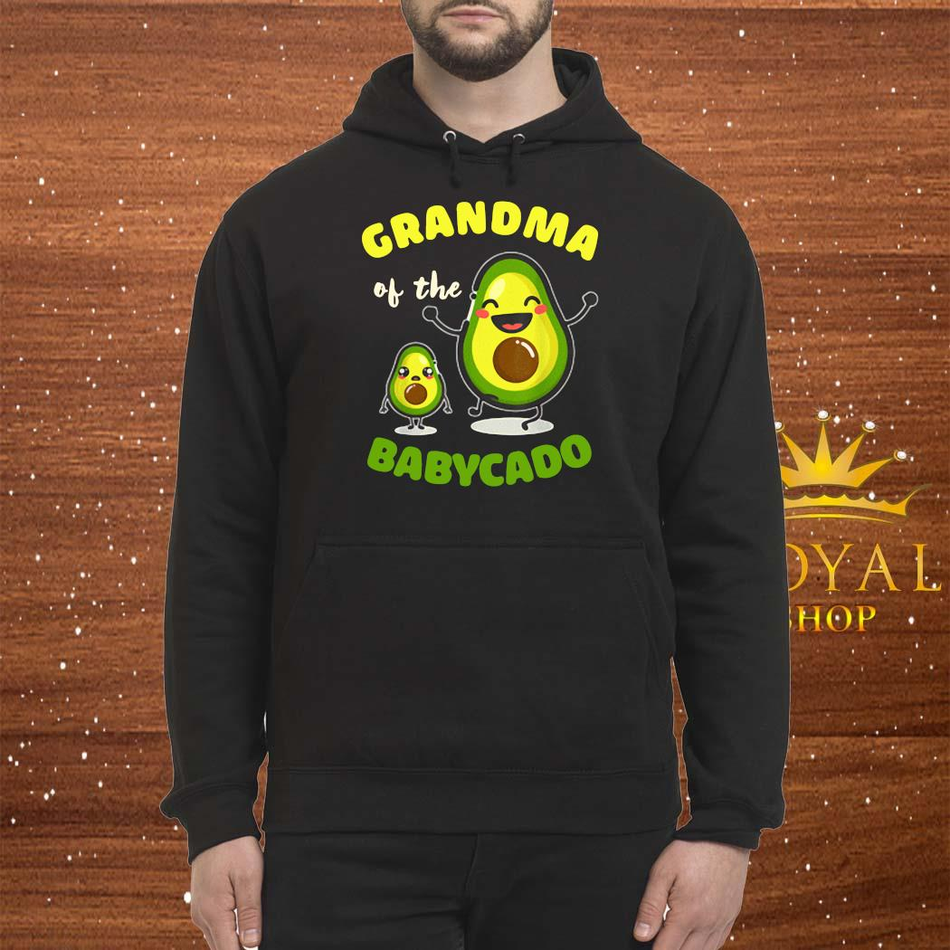 Grandma Of The Babycado Avocado Family Matching Shirt Hoodie