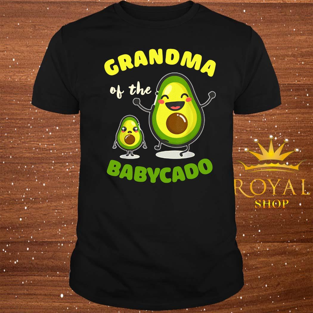 Grandma Of The Babycado Avocado Family Matching Shirt