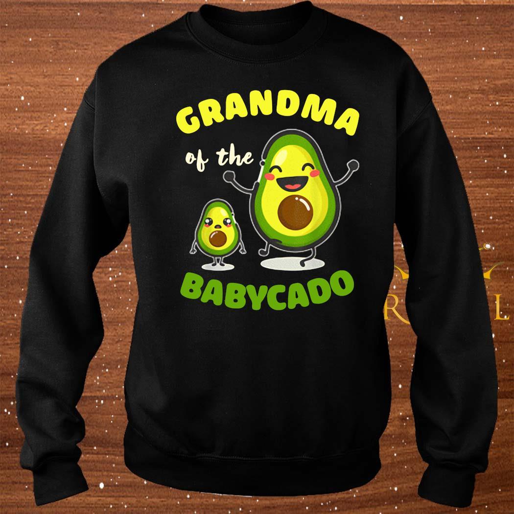 Grandma Of The Babycado Avocado Family Matching Shirt sweater