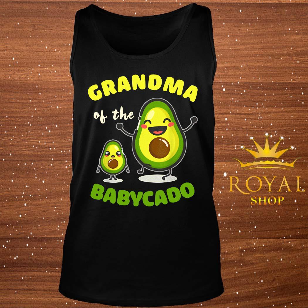 Grandma Of The Babycado Avocado Family Matching Shirt tank-top