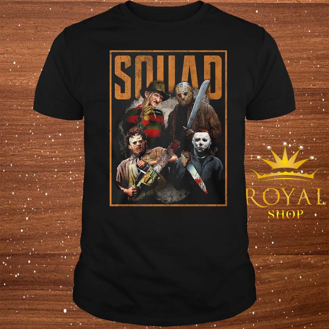 Horror Characters Squad Shirt