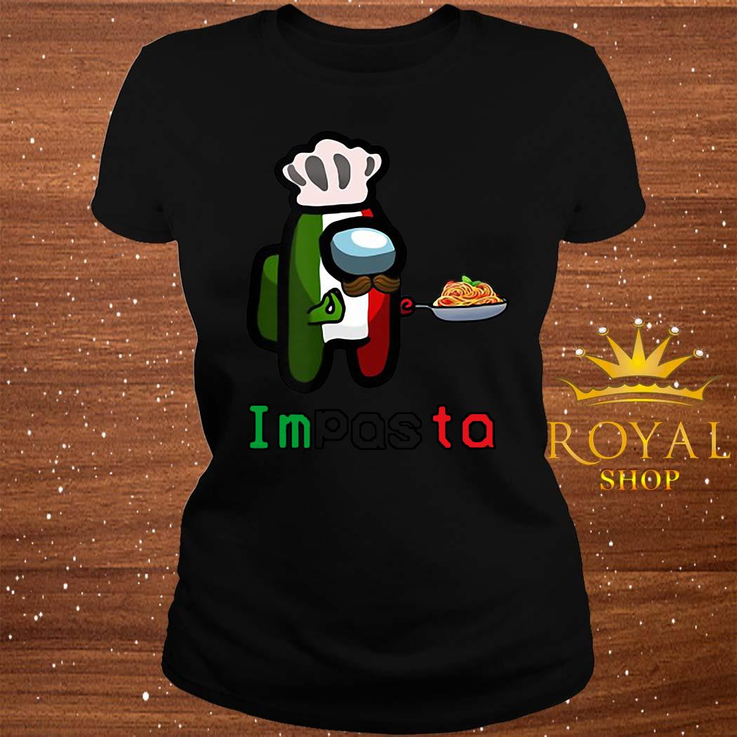Impasta Italian Us Impostor Essential Shirt ladies-tee