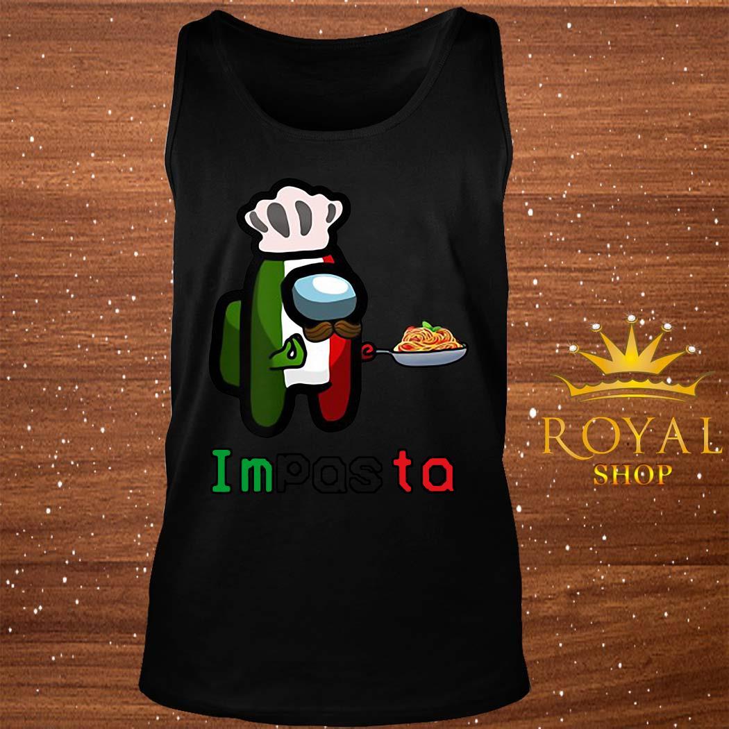 Impasta Italian Us Impostor Essential Shirt tank-top