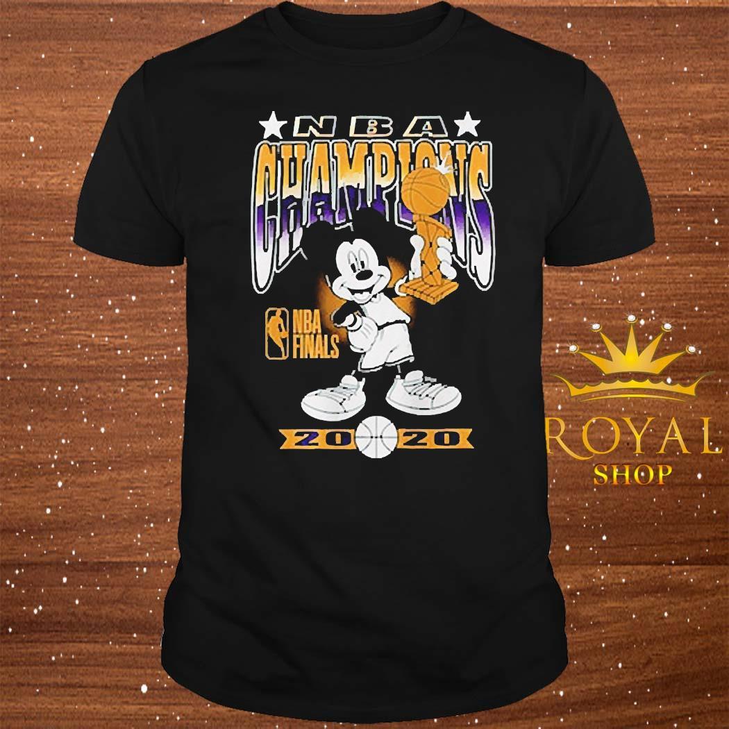 Lakers Mickey Mouse NBA Champions 2020 Shirt