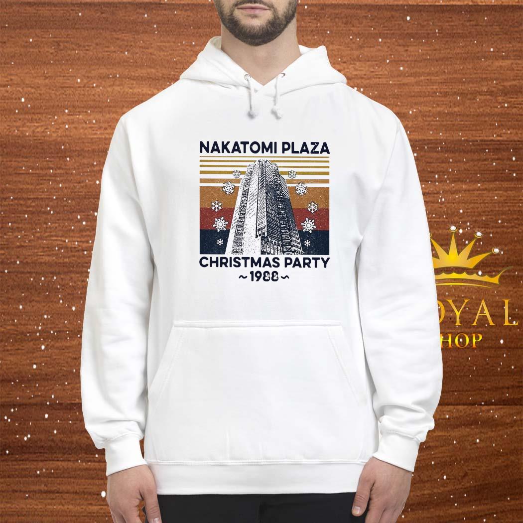 Nakatomi Plaza Christmas Party 1988 Vintage Shirt hoodie