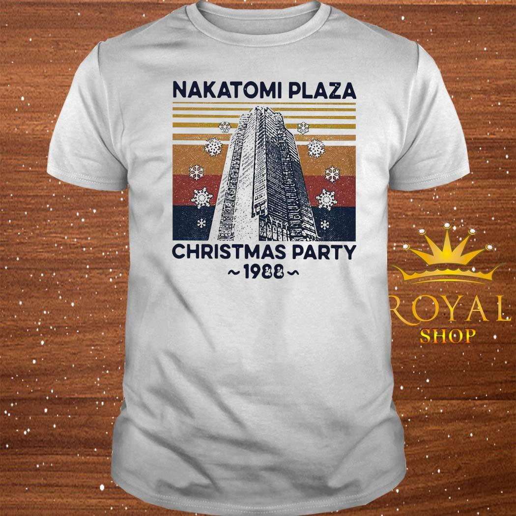 Nakatomi Plaza Christmas Party 1988 Vintage Shirt