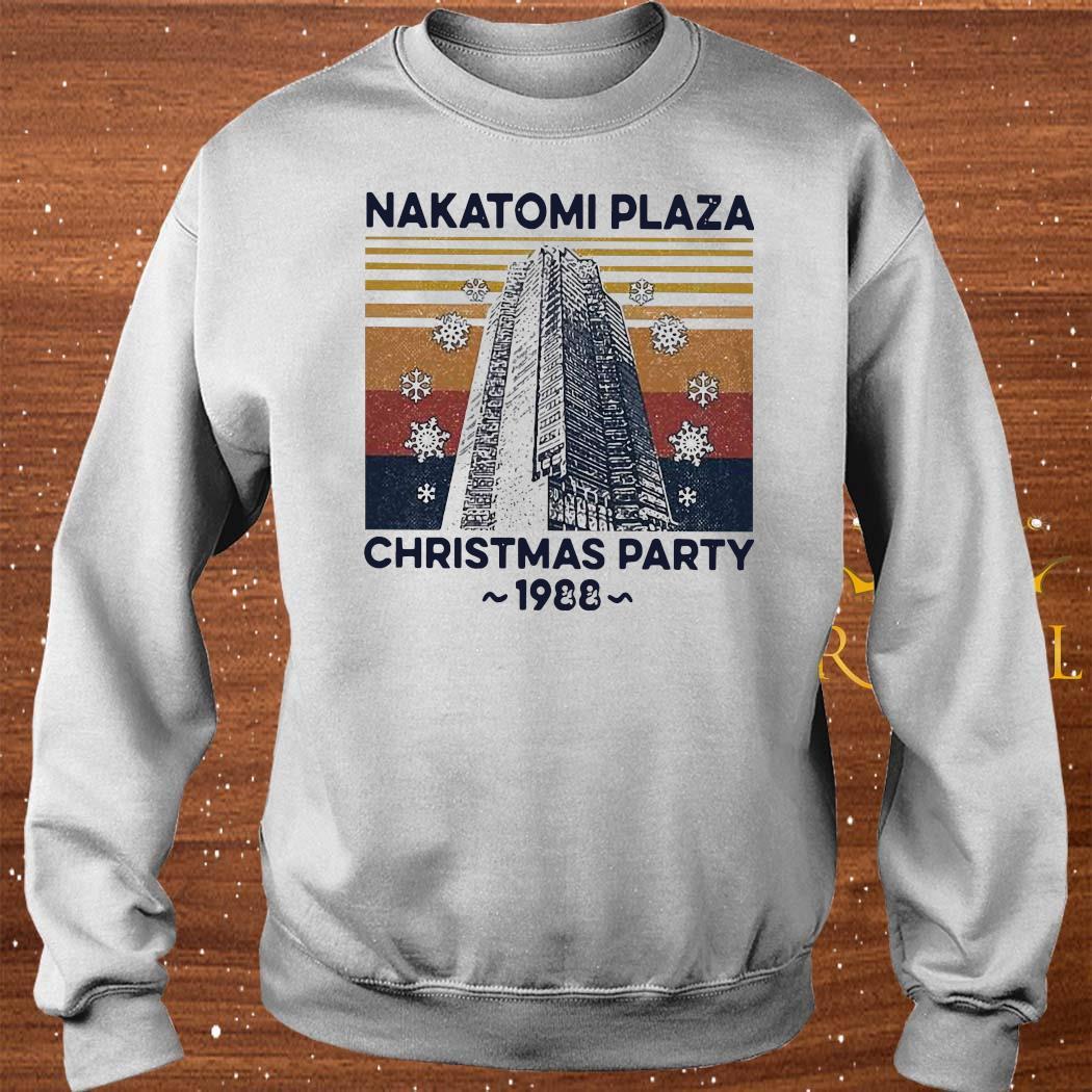 Nakatomi Plaza Christmas Party 1988 Vintage Shirt sweater