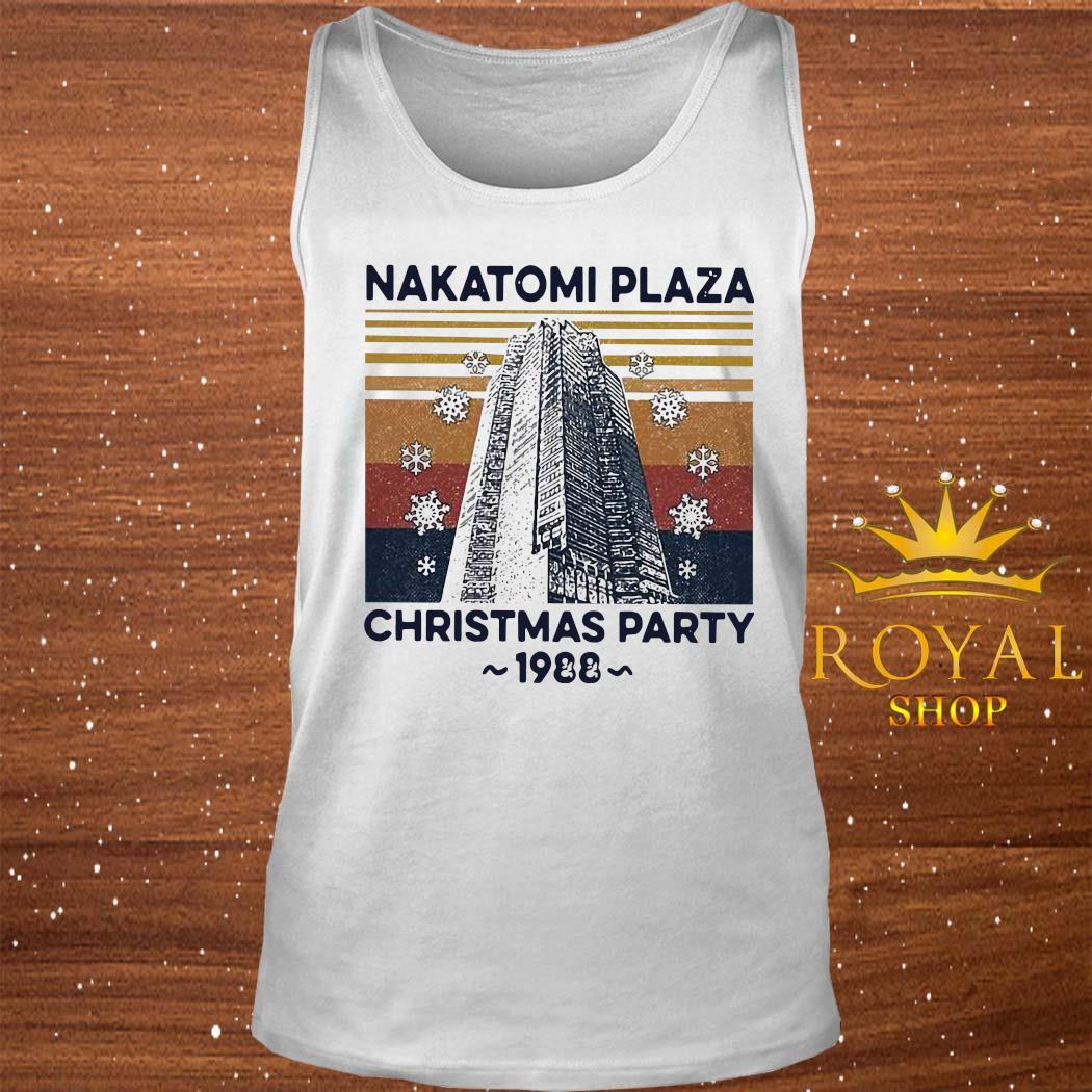 Nakatomi Plaza Christmas Party 1988 Vintage Shirt tank-top