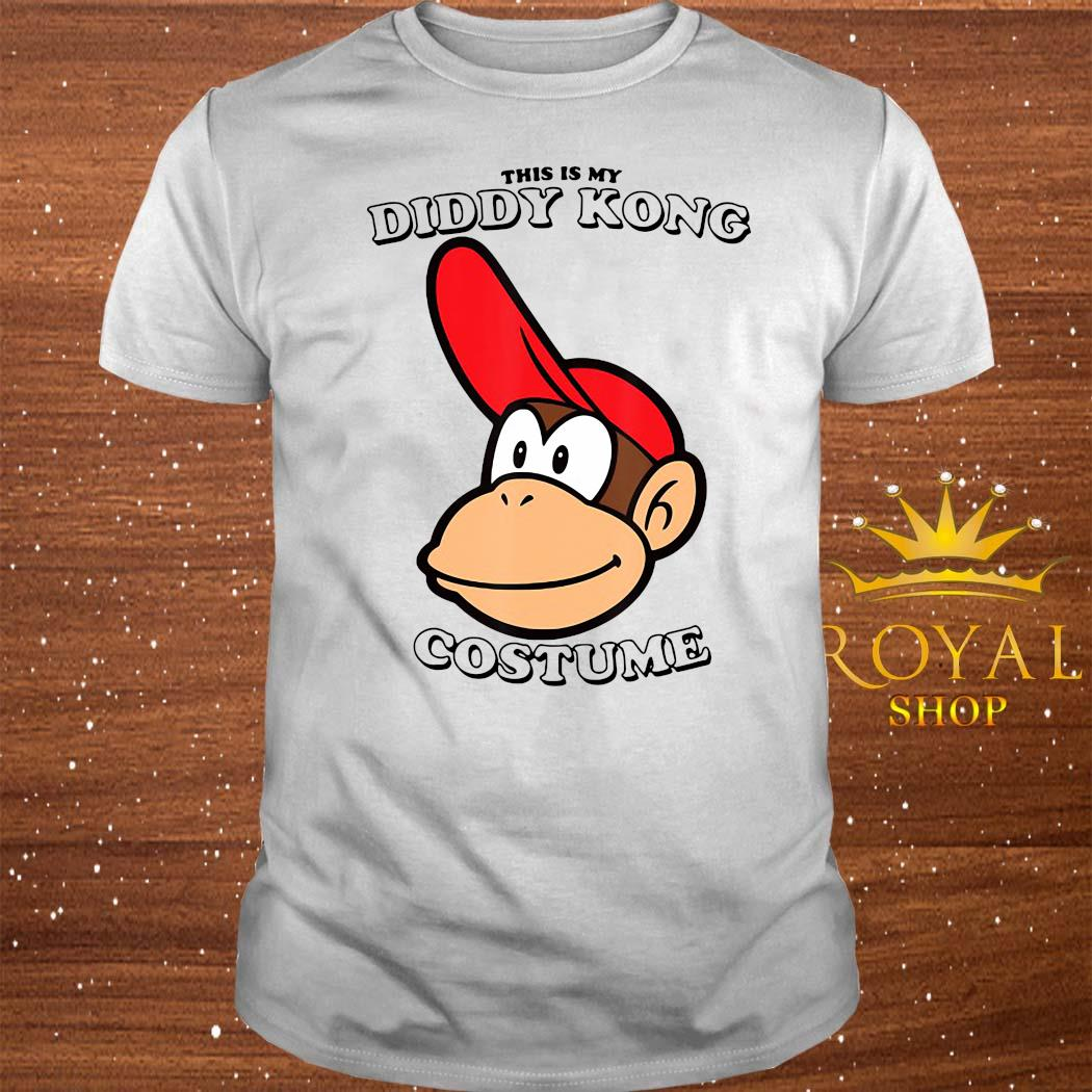 Super Mario This Is My Diddy Kong Costume Shirt